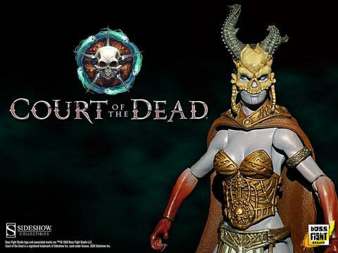 [PRE-ORDER] Boss Fight Studio / Sideshow Collectibles - Court of the Dead Action Figure - Kier Valkyrie of the Dead
