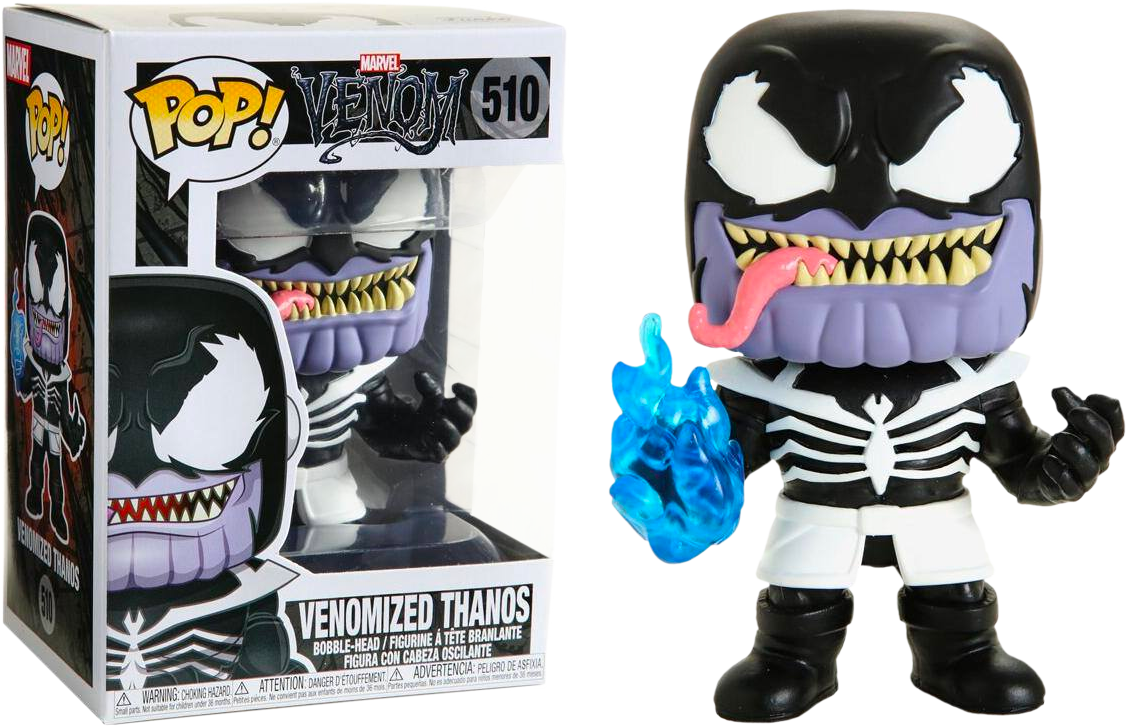 Funko Pop! MARVEL - Venom #510 - Venomized Thanos - Simply Toys