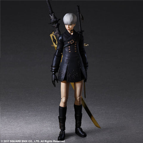 [PRE-ORDER] Square Enix - NieR: Automata Play Arts Kai Figure - 9S (YoRHa No.9 Type S) [Deluxe version]