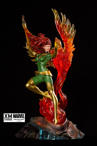 XM Studios 1/4 Scale MARVEL Premium Collectibles Statue - Jean Grey Phoenix (Limited 999 Pieces) - Simply Toys