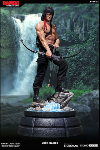 Pop Culture Shock 1/3 Scale Statue - Rambo - Simply Toys