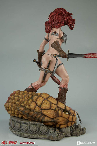 Sideshow Collectibles Premium Format Figure - Red Sonja She-Devil with a Sword - Simply Toys