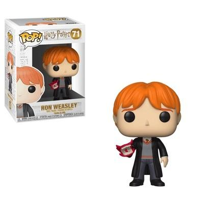 Funko Pop! Movies - Harry Potter #71 - Ron Weasley (Howler) - Simply Toys