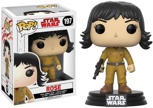 Funko Pop! Movies - Star Wars: Episode VIII - The Last Jedi #197 - Rose Tico - Simply Toys