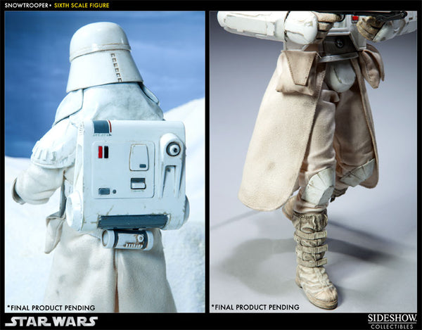 Sideshow Collectibles Star Wars Sixth Scale Figure - Snowtrooper - Simply Toys