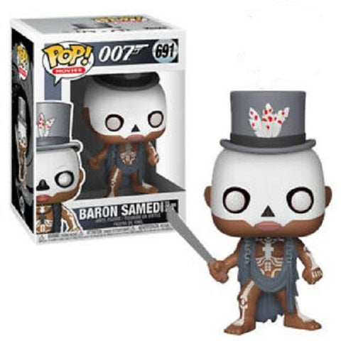 Funko Pop! Movies - James Bond #691 - Baron Samedi - Simply Toys