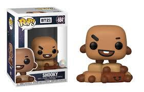 Funko Pop! Animation - BT21 #684 – Shooky - Simply Toys