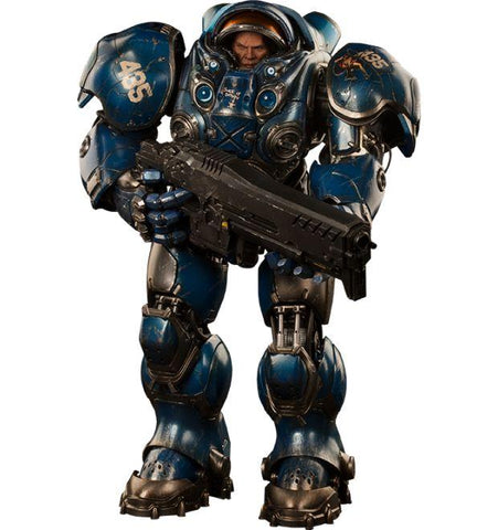 Sideshow Collectibles Starcraft II Sixth Scale Figure - Tychus Findlay - Simply Toys