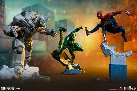 [PRE-ORDER] PCS Collectibles / Sideshow Collectibles - Marvel Collectible Set - Spider-Man, Rhino & Scorpion