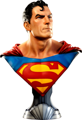 Sideshow Collectibles DC Comics Life-Size Bust - Superman (Limited Edition 1500 pieces) - Simply Toys