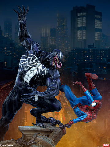 [PRE-ORDER] Sideshow Collectibles - MARVEL Maquette - Spider-Man vs Venom