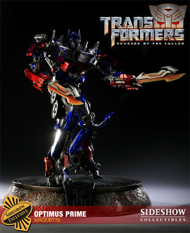 Sideshow Collectibles Maquette Statue - Optimus Prime Exclusive (LE 150 Piece) - Simply Toys