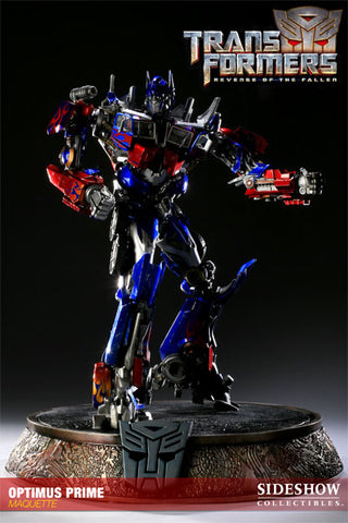 Sideshow Collectibles Maquette Statue - Optimus Prime (LE 500 Piece) - Simply Toys