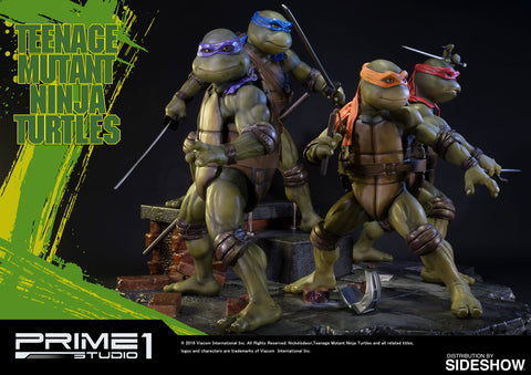 Prime 1 Studio TMNT Museum Masterline Statue - Teenage Mutant Ninja Turtles (Set Of 4) - Simply Toys