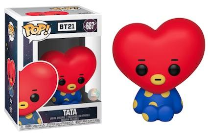 Funko Pop! Animation - BT21 #687 – Tata - Simply Toys