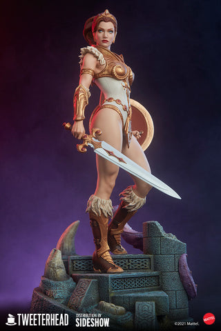 [PRE-ORDER] Tweeterhead / Sideshow Collectibles - Masters of the Universe Legends Maquette - Teela