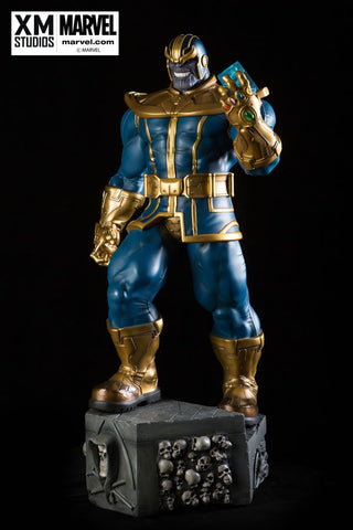 XM Studios 1/4 Scale MARVEL Premium Collectibles Statue - Thanos (Limited 999 Pieces) - Simply Toys