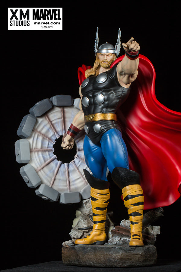 XM Studios 1/4 Scale MARVEL Premium Collectibles Statue - Thor Comic Version (Limited 999 pieces) - Simply Toys