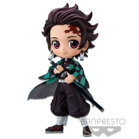 Banpresto Demon Slayer Q Posket - Tanjiro Kamado (Version A)
