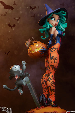 [PRE-ORDER] Sideshow Collectibles - Chris Sanders Statue - Pumpkin Witch