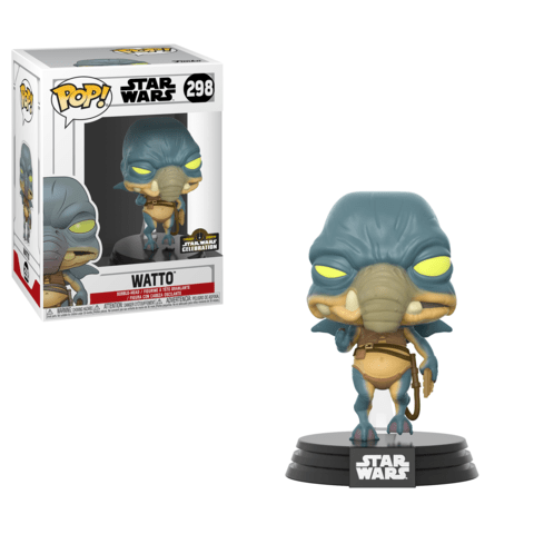 Funko Pop! Movies - Star Wars #298 - Watto (Exclusive) - Simply Toys