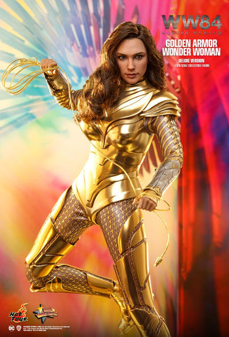 [PRE-ORDER] Hot Toys - DC Sixth Scale Figure - MMS578 Golden Armor Wonder Woman (Deluxe Version)