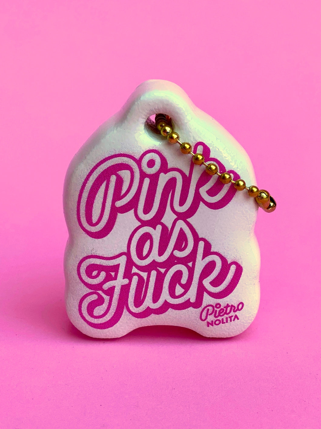 PINK AS FUCK KEY CHAIN