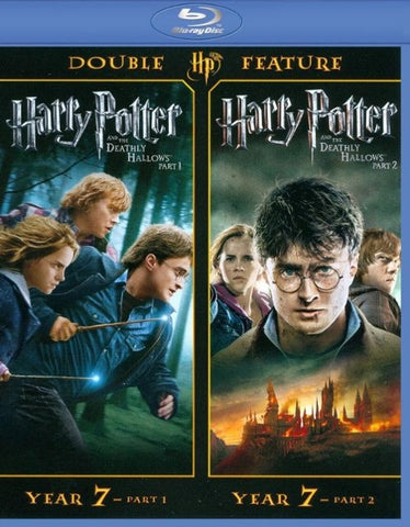 Harry Potter and the Deathly Hallows Part 1 & 2(UV HD)