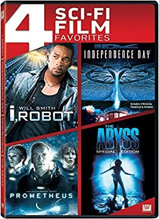 I-robot/Independence Day/Prometheus/The Abyss Choose One (UV HD)