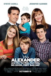 Alexander and the Terrible, Horrible No Good Day, Very Bad Day (MA HD/Vudu HD/iTunes via MA)