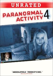Paranormal Activity 4: Unrated (UV HD)