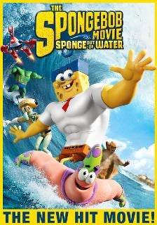 Sponge Bob Movie: Sponge out of Water (UV HD)