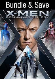 X-Men Beginnings Trilogy (First Class, Days of Future Past, Apocalypse) (UV HD)