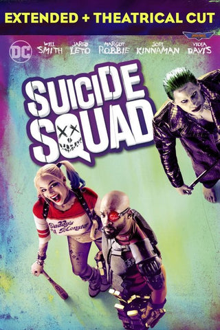Suicide Squad Extended + Theatrical Cut (MA HD/ Vudu HD/ iTunes via MA)