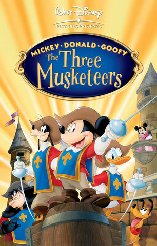 Mickey, Donald, Goofey The Three Musketeers (MA HD/Vudu HD/iTunes via MA)