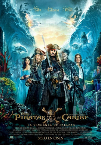 Pirates Of The Caribbean Dead Men Tell No Tales (MA HD/Vudu HD/iTunes via MA)