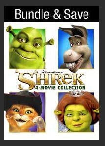 Shrek Four Movie Collection (VUDU INSTAWATCH HD) Ports To Movies Anywhere & iTunes