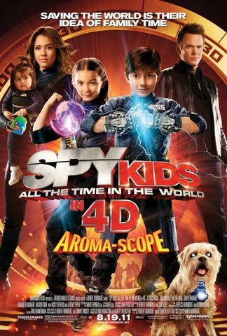 Spy Kids All The Time in The World (UV HD)