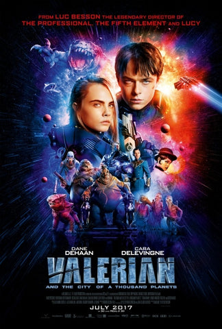 Valerian And The City Of A Thousand Planets (UV HD)