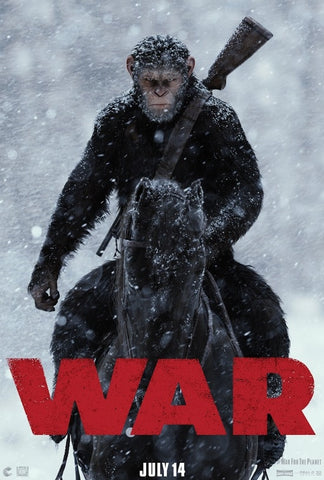 War for the Planet of the Apes (UV MA/Vudu Hd/ iTunes HD via MA)
