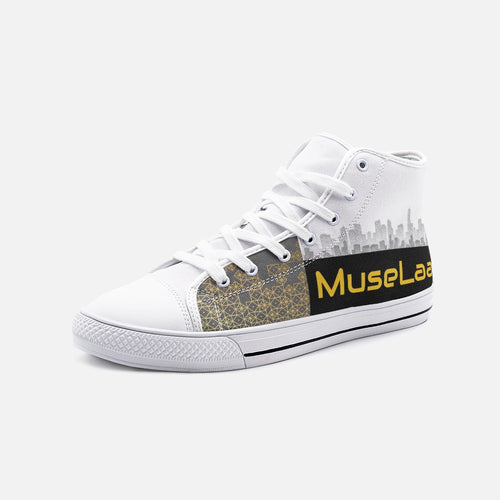 MuseLaa City High Top Canvas Shoes