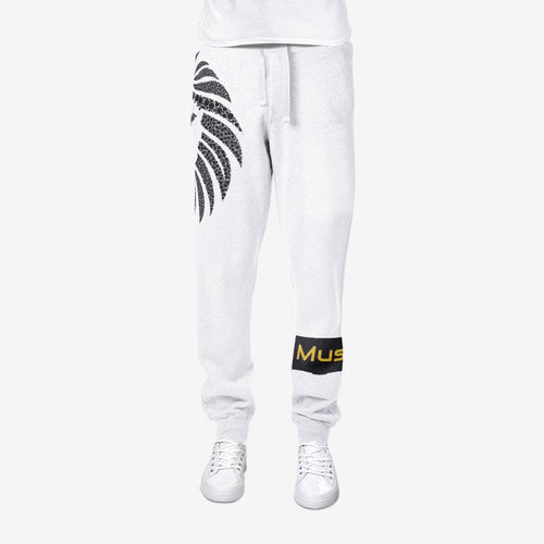 MuseLaa Lion All-Over Print men's joggers sweatpants