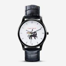 Load image into Gallery viewer, Leopold Ashley 111 Classic Fashion Print Black Quartz Watch