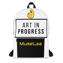 Load image into Gallery viewer, Art In Progress (MuseLaa) Backpack