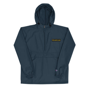 MuseLaa Embroidered Champion Packable Jacket