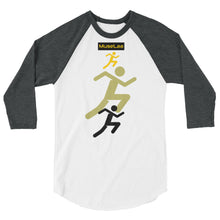 Load image into Gallery viewer, MuseLaa 3/4 sleeve raglan shirt