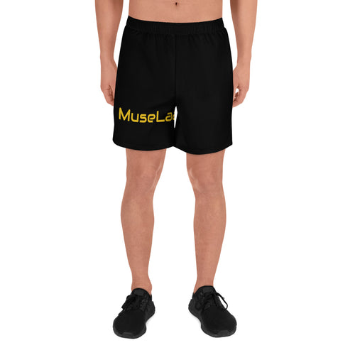 Men's MuseLaa Athletic Long Shorts