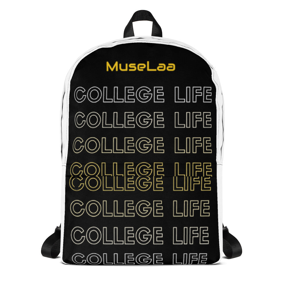 College Life Is Proven By (MuseLaa) Backpack