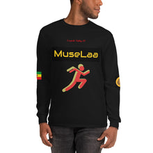 Load image into Gallery viewer, MuseLaa from Jamaica to Minnesota Men's Long Sleeve Shirt