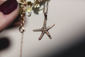 Queen of the sea starfish necklace